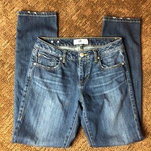 Cabi Jeans The Straight Medium Wash Sz 4
